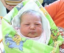 AMÁLIE VAMBEROVÁ se narodila v porodnici v Novém Městě na Moravě 7.2.  Vážila 4,15 kg a měřila 49 cm. Bydlet bude ve Svratouchu.