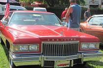 Milovníci amerických aut si dali sraz v Autokempu Konopáč u Heřmanova Městce.