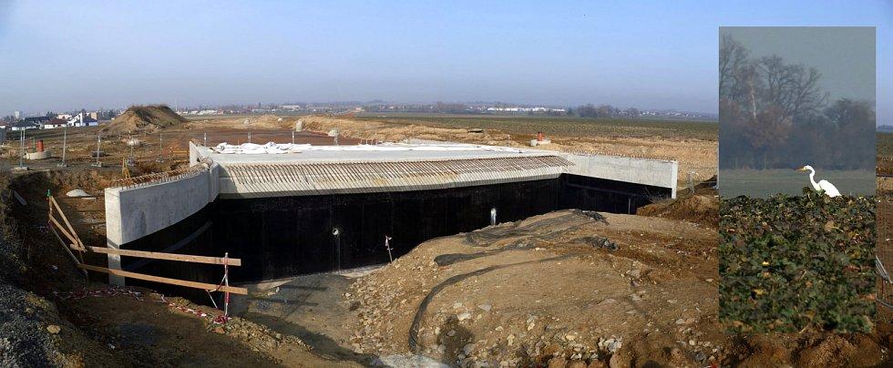 Aktuální stav výstavby druhé etapy chrudimského obchvatu