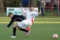 V derby krajského fotbalového přeboru remizovaly Chrudim B a Heřmanův Městec 2:2.