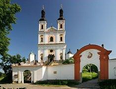 Poutní kostel Panny Marie Pomocnice křesťanů na Chlumku v Luži.
