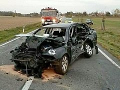 Nehoda u Přibylova, 23.10.2018