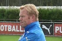 Trenér Ronald Koeman.