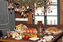 Vánoční atmosféra v hlineckém Betlémě.