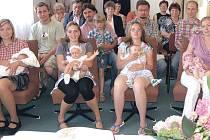 Vítání občánků patří i v Morašicích k památným událostem.