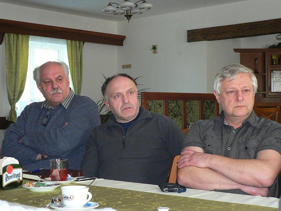 Zástupci hlineckých kožešníků.
