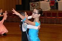 Tradiční taneční soutěž Hlinecké a Únorové Géčko