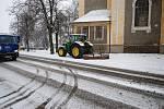 Sněhová kalamita zasáhla celou republiku, ale i oblast pod Železnými horami  na okrese Chrudim: Běstvinu, Třemošnici i Ronov.