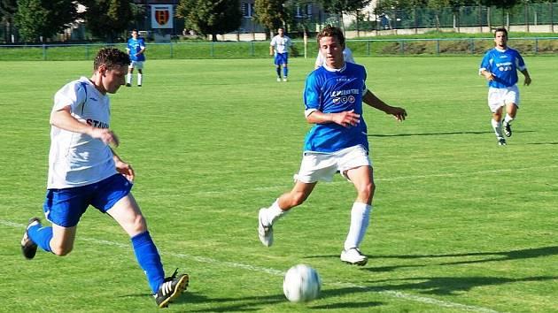 Krajský přebor: Třemošnice doma v derby remizovala se Stolany 1:1.