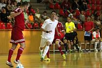 Z přípravného futsalového dvojutkání FK Era-Pack Chrudim - Lokomotiv Charkov.