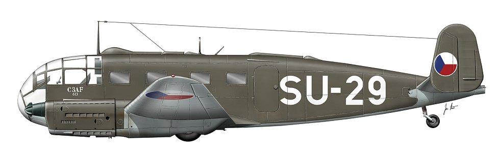 Letoun Aero C-3AF.