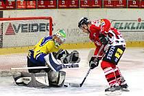 Semifinále play off II. hokejové ligy mezi Chrudimí a Nymburkem pokračovala druhým utkáním.V něm po tuhém boji zvítězila domácí Chrudim 4:2.