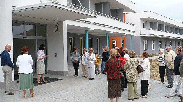 Den otevřených dveří v chrudimském hospicu.