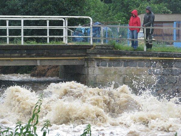Záplavy na Chrudimsku, 25.6.2013 - Bítovany