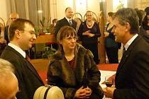 Klavíristka Jana Turková (rodačka z Chrudimi) a violoncellista Lukáš Pospíšil vystoupili na 730. chrudimském hudebním pátku v Muzeu.