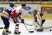 Chrudimští hokejisté doma zvítězili nad Kláštercem.