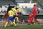Fotbalové utkání mezi AFK Chrudim a FK Pardubice
