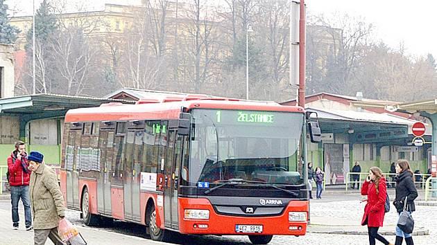Městská hromadná doprava v Chrudimi.