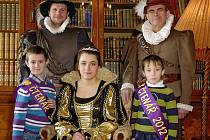 Malé školáky pasoval na čtenáře sám kníže František Auersperg s chotí.