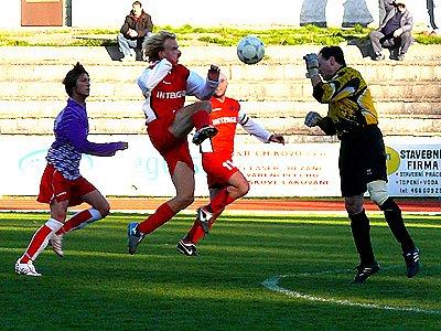 Z utkání AFK B - Rváčov, které domácí vyhráli 3:1.