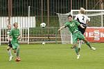 Z fotbalového utkání krajského přeboru Hlinsko - Ústí nad Orlicí 0:1.