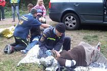 Šestého ročníku cvičení pro dobrovolné záchranářské složky s názvem Rescue Marathon se v Kostelci u Heřmanova Městce zúčasnilo 235 záchranářů z celé republiky.