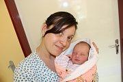 VANESA KOUBOVÁ (3,4 kg a 52 cm) –  tak se od 31.3. od 18:07 jmenuje první dcera Sandry a Michala z Miřetic-Dachova.