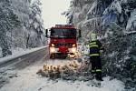 Sněhová kalamita, která zasáhla i východní Čechy, způsobila řadu problémů také na železnici. Jaká je současná situace na východočeských železnicích, sděluje Petr Šťáhlavský z Generálního ředitelství ČD.