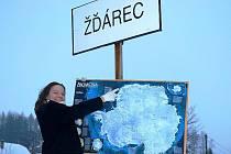Žáci osmé třídy ZŠ v Třemošnici se na hodinku přenesli až do mrazivé Antarktidy.