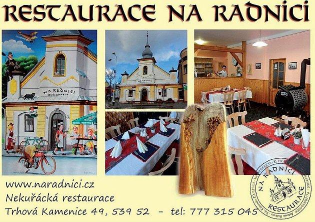 14. Restaurace Na Radnici, Trhová Kamenice