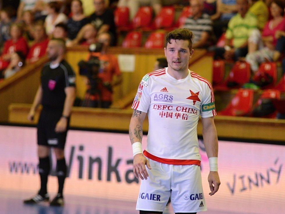 Chance futsal liga - 1. finále play off: FK ERA-PACK Chrudim - SK Slavia Praha.