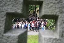 Stovky lidí si v Ležákách připomněly vypálení osady nacisty.