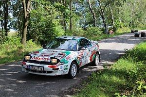 Rallye Železné hory 2017 jízdy