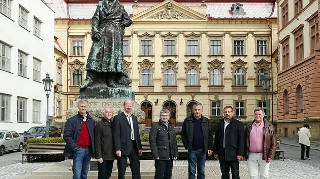Chrudim navštívila delegace z partnerského města Svídník.