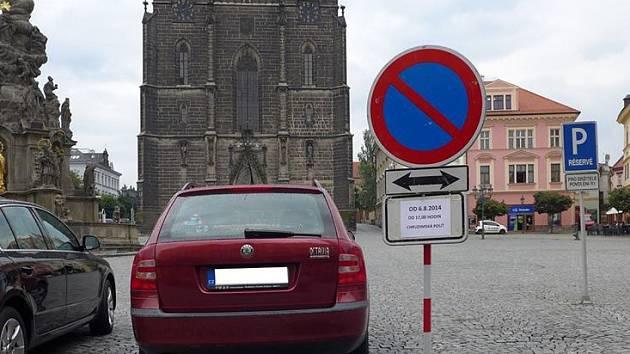 Centrum Chrudimi čeká kvůli pouti řada dopravních omezení.