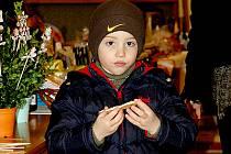 Jakub Machač ze Slatiňan si nejvíc pochutnal na sladkém perníčku.