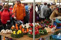 Kateřinské posvícení nalákalo na dobroty mnoho lidí.