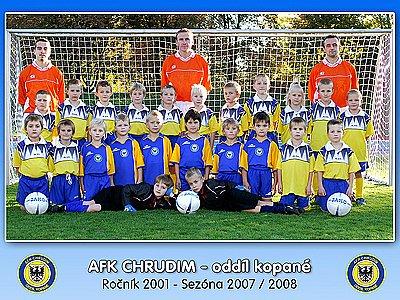 Fotbalisté AFK ročník 2001.