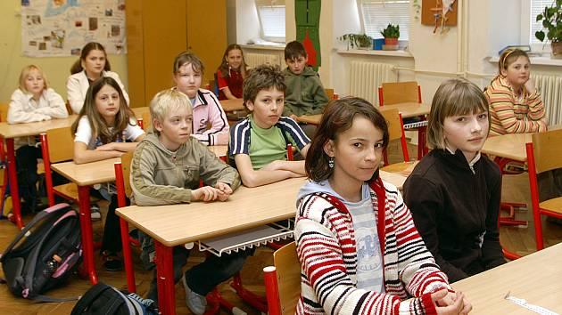 Základní škola v Trhové Kamenici.