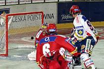 Semifinálový zápas dopadl šťastně pro Pardubice.