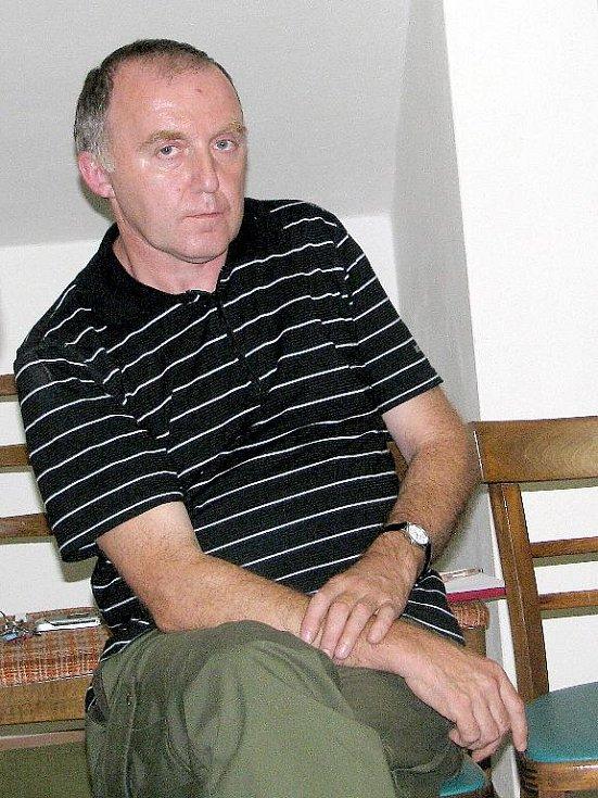Ředitel Správy CHKO Železné hory František Bárta.