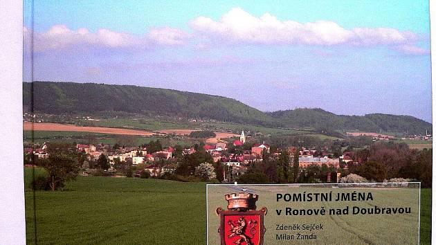 Kniha Pomístní jména v Ronově nad Doubravou.