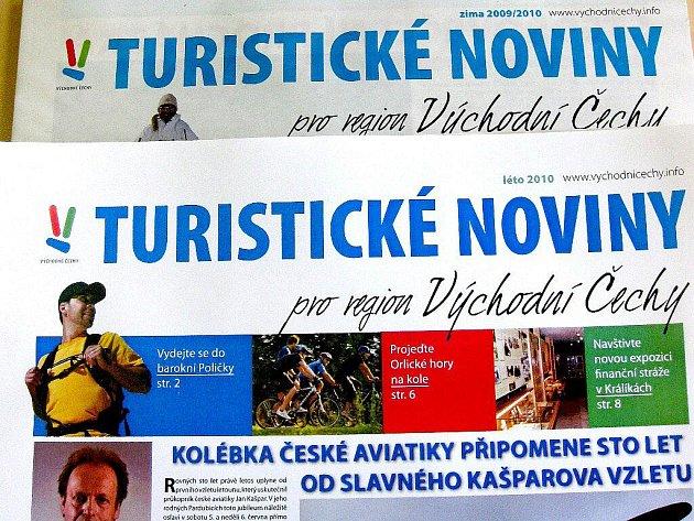 Turistické noviny pro region východní Čechy.