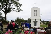 Nová kaplička v Deblově
