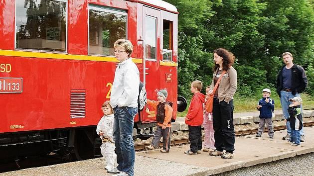 Pardní víkend lákal děti i dospělé nejen se zájmem o železnici.