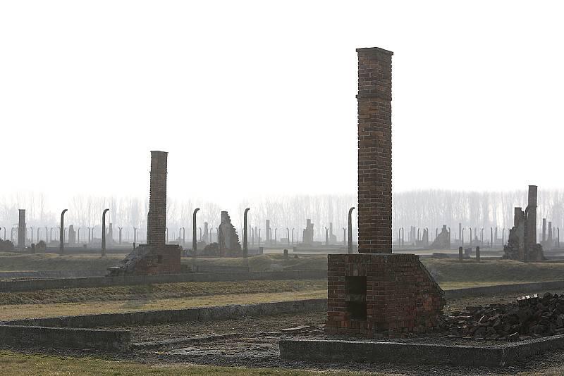 Před sedmi lety se uskutečnil poznávací zájezd do Osvětimi. Eva Lišková společně s historikem Vojtěchem Kynclem se stali průvodci hlinecké výpravy.
