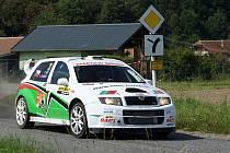 Z Mogul Rallye Železné hory 2012.