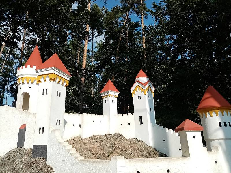 Správcem miniatury je město Slatiňany, které se o ni příkladně stará.
