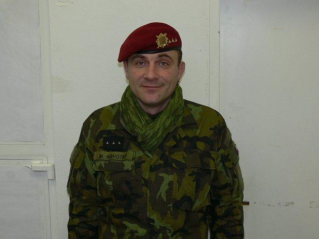 Kaplan 43. výsadkového praporu Milan Novotný.