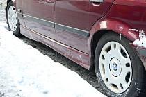 Parkující vůz